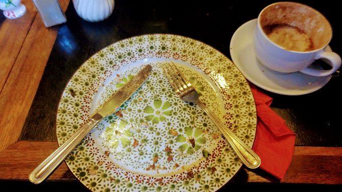 Shae's clean plate