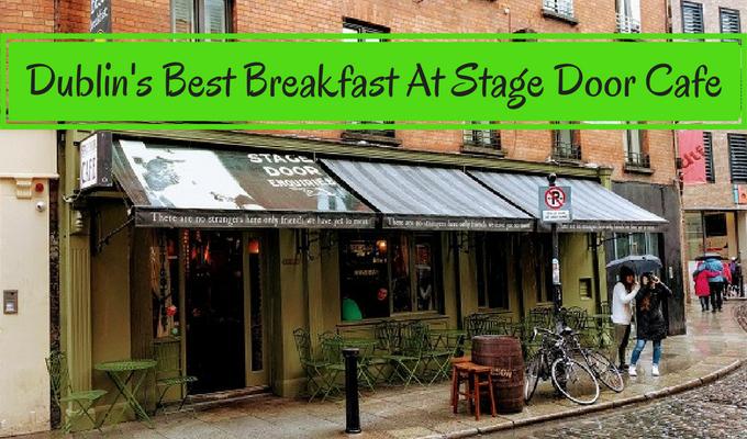 Stage Door Cafe Dublin