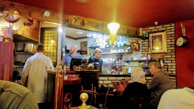 Stage Door Cafe, Dublin - kitchen