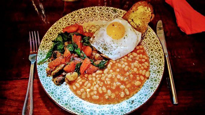 Stage Door Cafe, Dublin - vegetarian breakfast