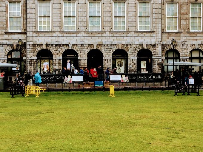 The Book of Kells at Trinity College, Dublin