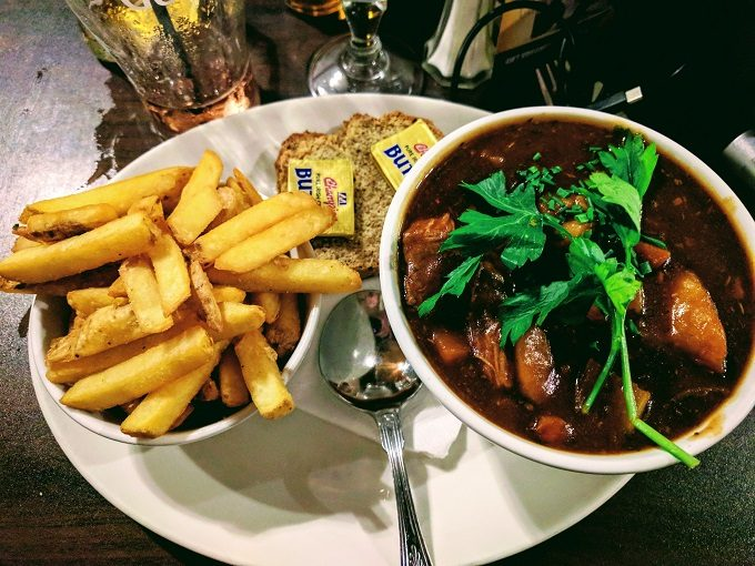 The Quay's Bar - slow cooked beef and Guinness stew