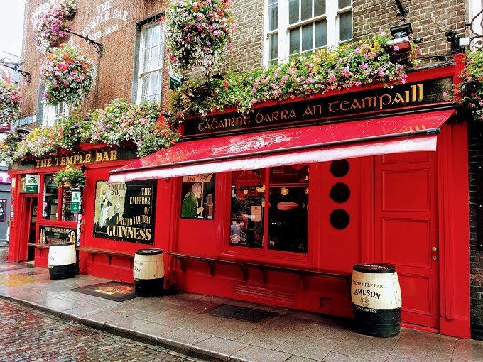 The Temple Bar pub, Dublin