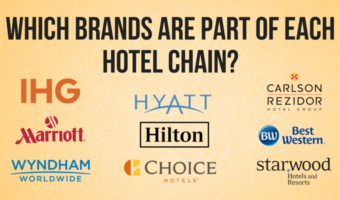 Which Brands Are Part Of Each Hotel Chain?