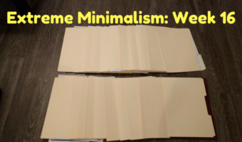 Extreme Minimalism: Week 16 – Paperwork Edition