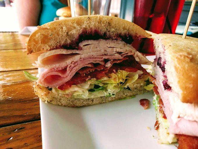 Longboards, Portsmouth VA - inside a Tourist Tan sandwich