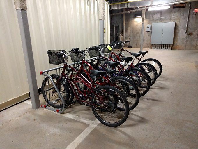 Aloft Raleigh - bikes