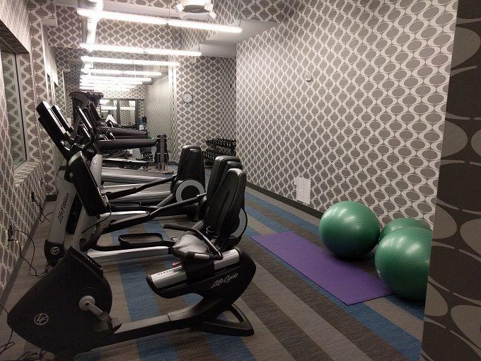 Aloft Raleigh - fitness center