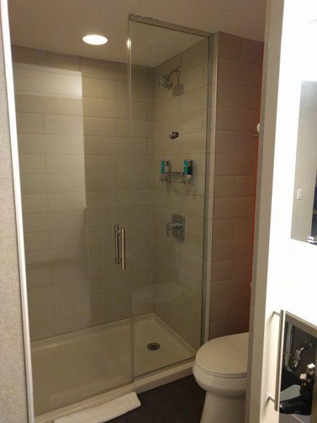 Aloft Raleigh - shower