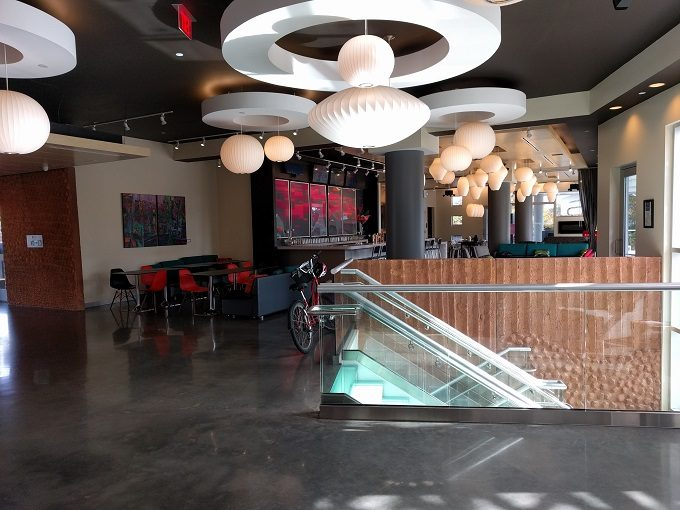 Aloft Raleigh - wxyz bar