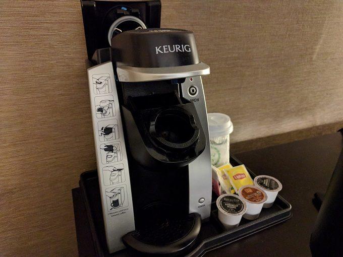 Holiday Inn Chicago-Elk Grove Keurig coffee maker