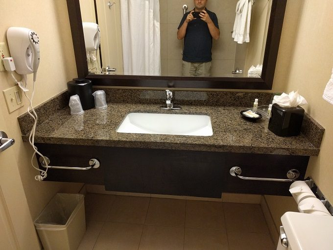 Holiday Inn Chicago-Elk Grove bathroom