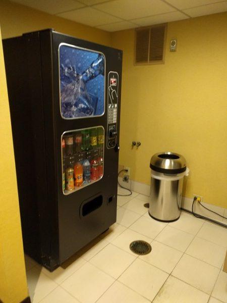 Holiday Inn Chicago-Elk Grove drinks vending machine