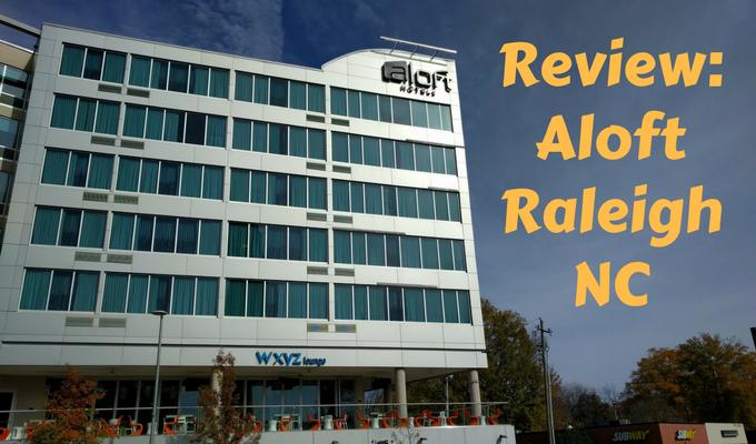 Review Aloft Raleigh NC