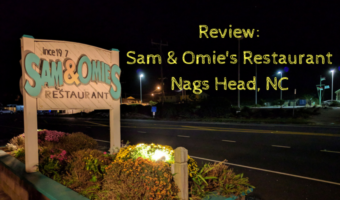 Review: Sam & Omie's Restaurant, Nags Head, NC