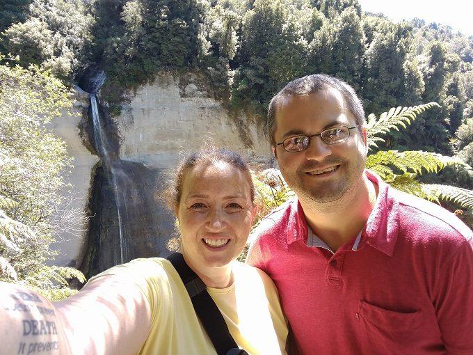 23 - Take the obligatory selfie at Mount Damper Falls