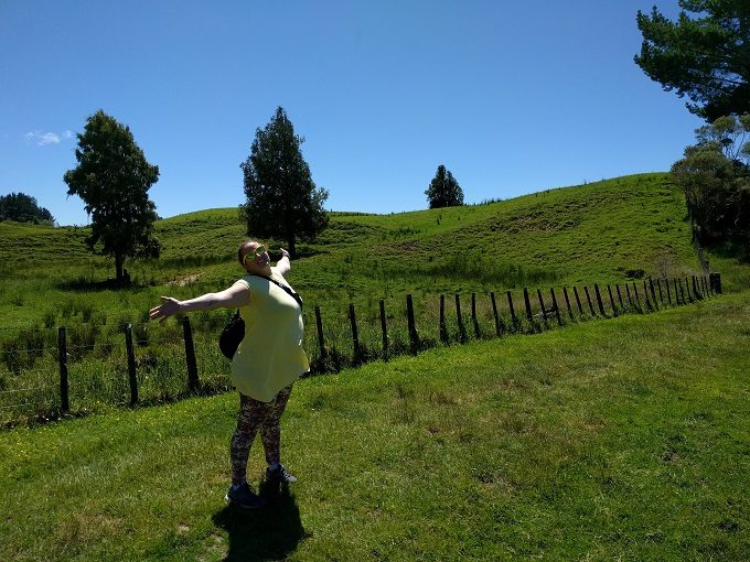 3 - Enjoy stretching your legs after driving along the Forgotten World Highway