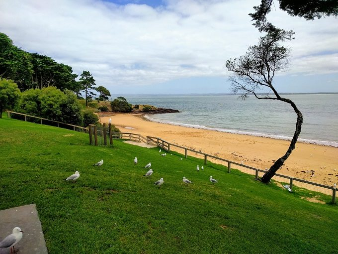 Cowes beach on Phillip Island