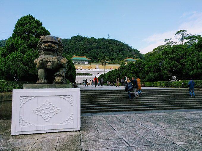 Entrance of National Palace Museum, Taipei