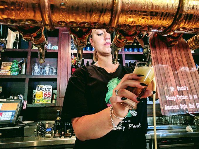 Geordie at Hunter Beer Co