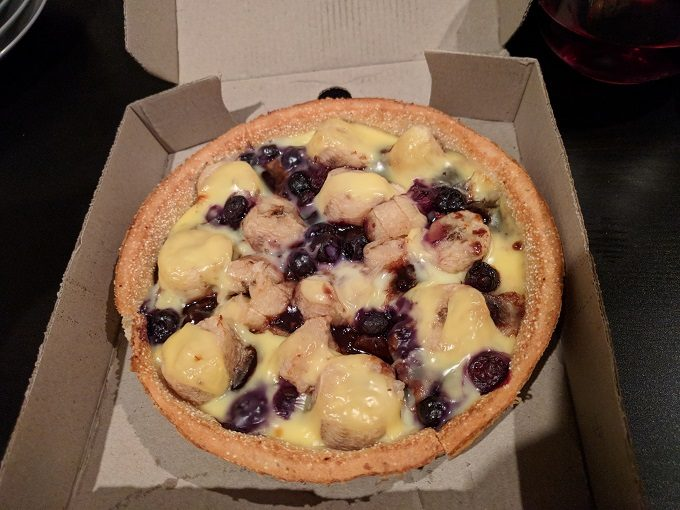 Hell Pizza - Unearthly dessert pizza