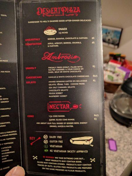Hell Pizza menu - 4