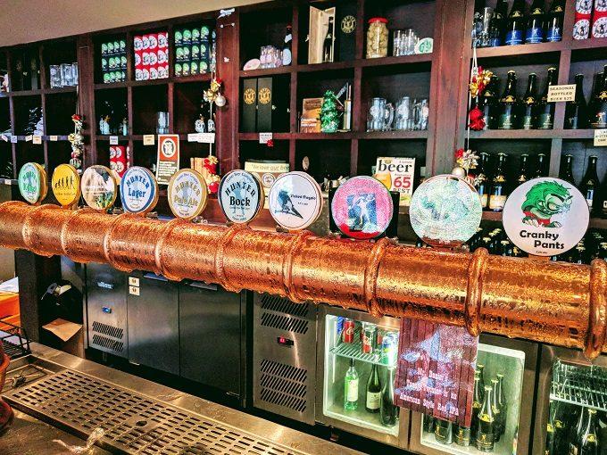 Hunter Beer Co draft options
