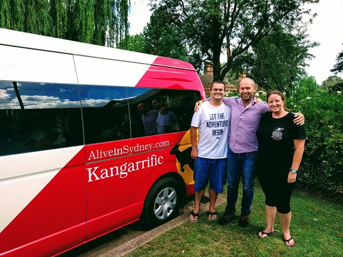 Me and Shae with Sam from Kangarrific Tours
