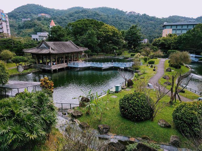 National Palace Museum, Taipei - Zhishan Garden
