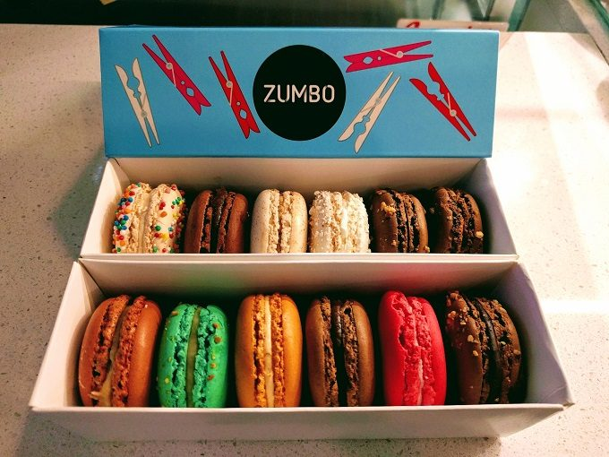 Our macarons from Zumbo's