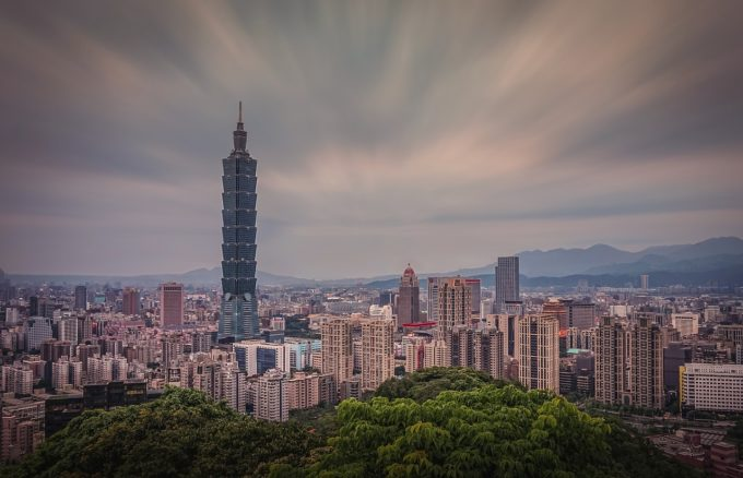Taipei 101 from a distance