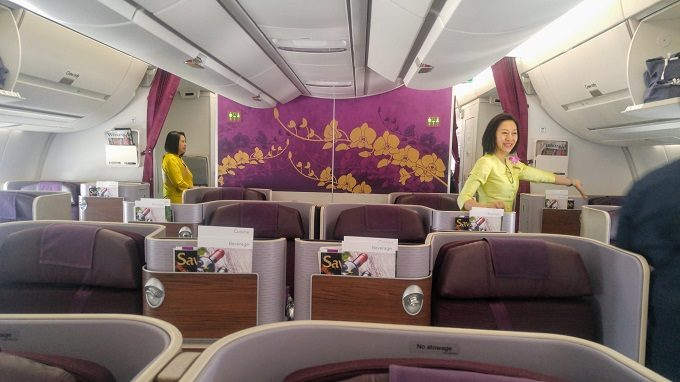Review: Thai Airways Business Class Melbourne to Bangkok