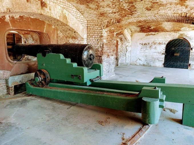 42-Pounder iron cannon