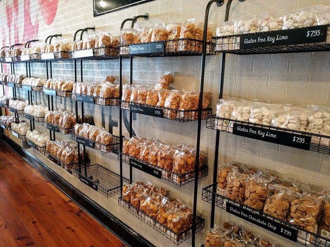 Bags and bags of Byrd's Cookies