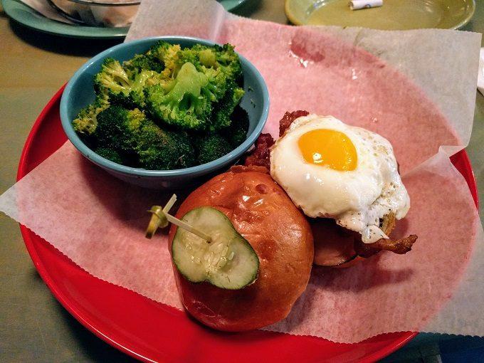 Big Billy's Burger Joint Bison burger