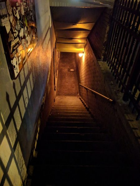 Downstairs to The Whig