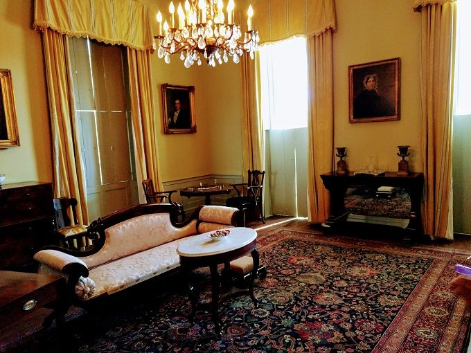 East parlor room
