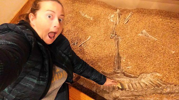 Getting my paleontology on