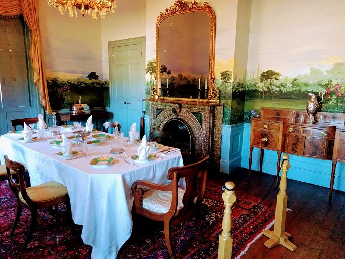 Hampton-Preston House dining room