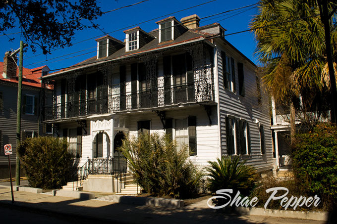 Historic home in downtown Charleston SC
