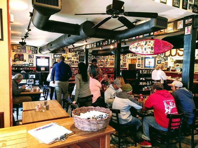 Inside Lost Dog Cafe