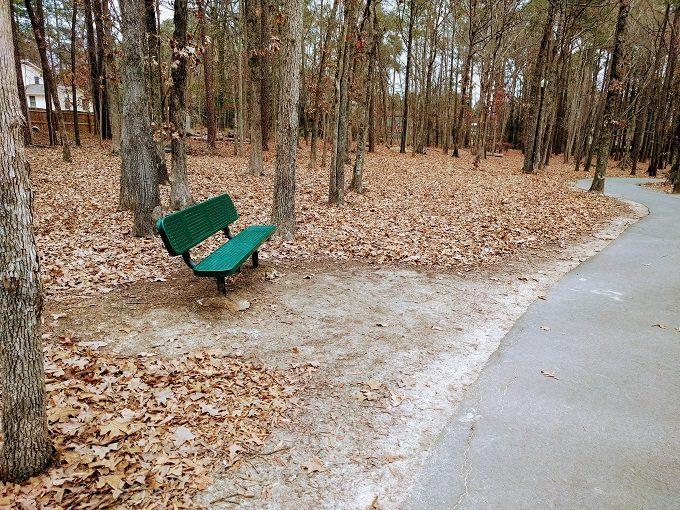 Irmo Community Park bench