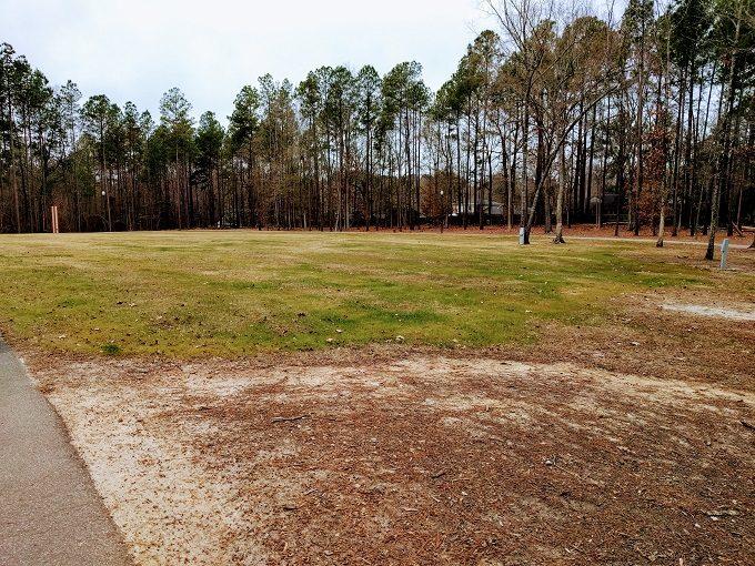 Irmo Community Park grassy area