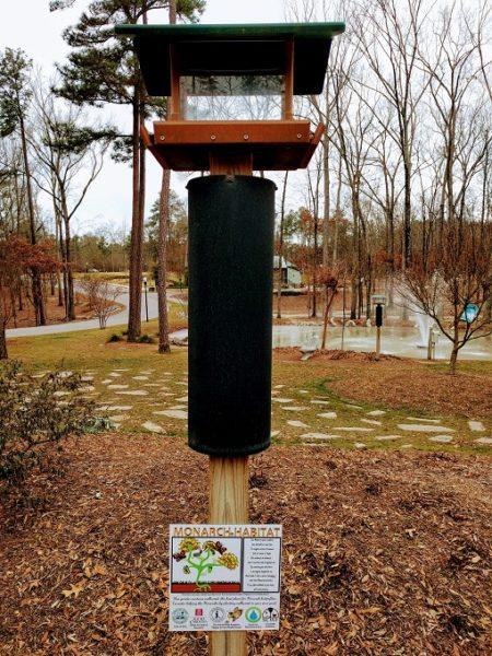 Irmo Community Park monarch habitat