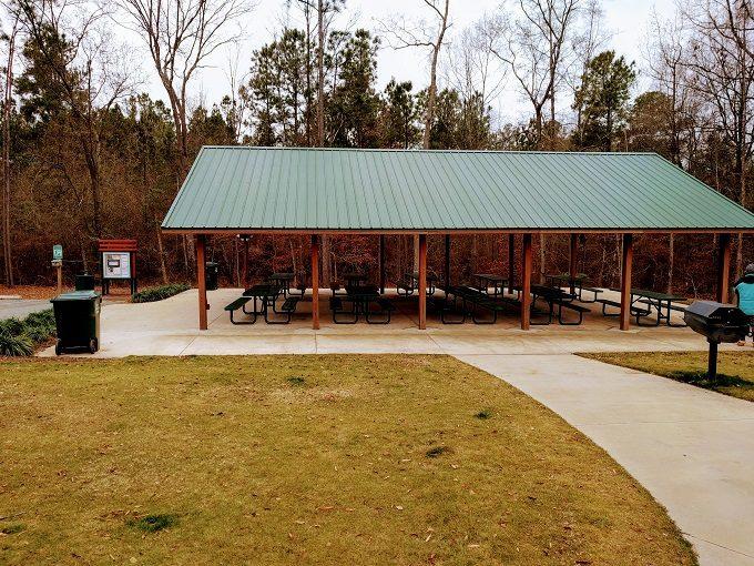 Irmo Community Park picnic shelter