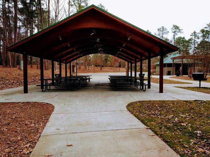 Irmo Community Park's second picnic shelter