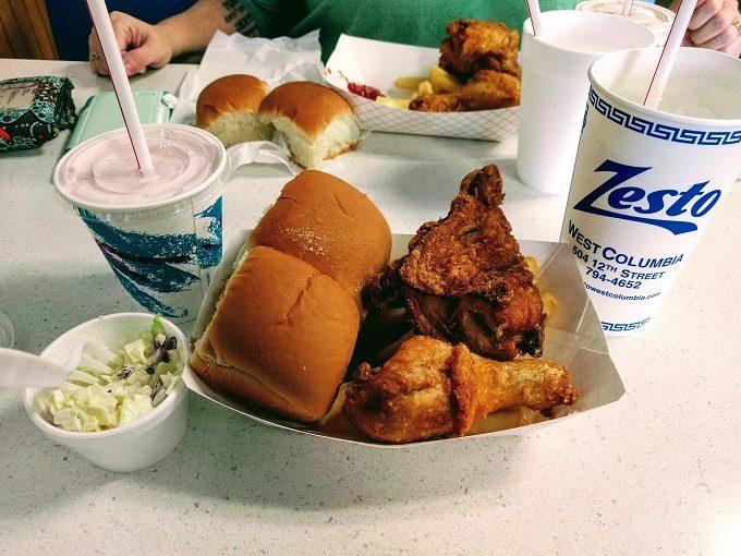 Lunch at Zesto