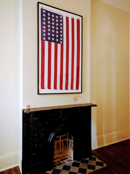 Reproduction flag with 37 stars