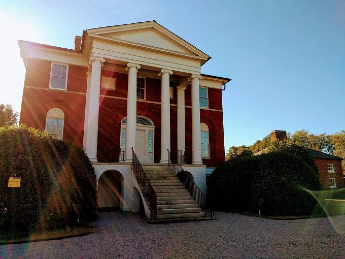 Robert Mills House on our historic home tour