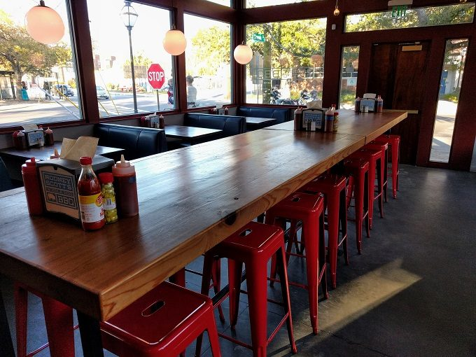 Rodney Scott's BBQ Indoor seating